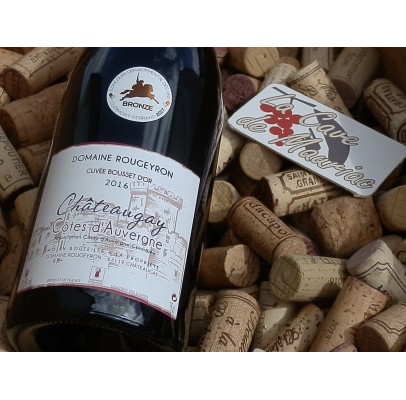Côtes d'Auvergne  Chateaugay  rouge domaine Rougeyron 2018